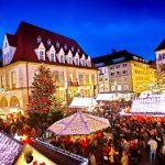 Premiere auf dem Bielefelder Weihnachtsmarkt / Am 25. November 2019 startet einer der größten Märkte in NRW / Erstmals Eisbahn in der Altstadt