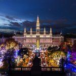 Weihnachtsflair vor dem Wiener Rathaus